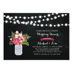 Chalkboard Couples Wedding Shower Invitation starting at 2.56