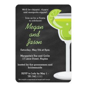 Chalkboard Margarita Party Invitation - Chalk Back starting at 2.81