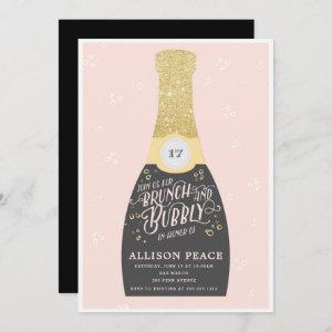 Champagne Brunch and Bubbly Shower Invitation starting at 2.51