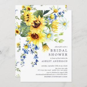 Cheerful Yellow Sunflower Bridal Shower Invitation starting at 2.40
