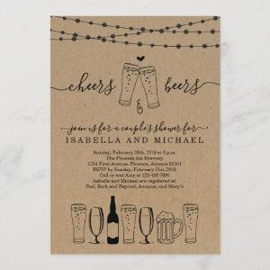 Cheers & Beer Couple's Shower / Rehearsal Dinner Invitation starting at 2.56