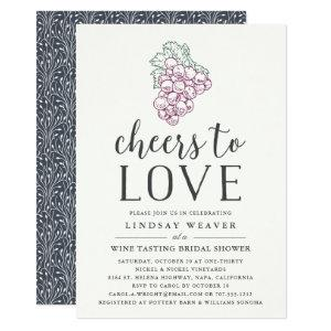 Cheers to Love | Wine Tasting Bridal Shower Invite starting at 2.26