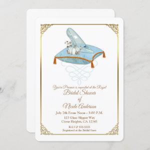Cinderella Glass Slipper Elegant Bridal Shower Invitation starting at 2.90