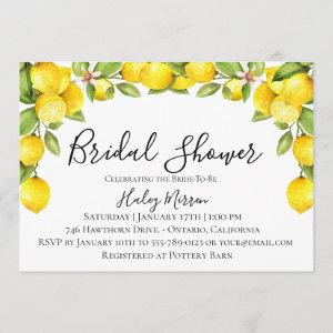 Citrus Orchard Bridal Shower Invitation starting at 2.51