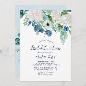 Classic White Flowers Bridal Luncheon Invitation starting at 2.51