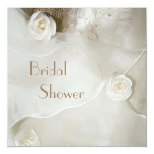 Classy Vintage Wedding Gown Bridal Shower Invitation starting at 2.51