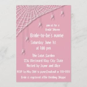 Cobwebs and White Spiders Bridal Shower starting at 2.61