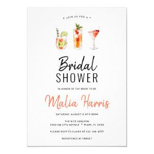 Cocktail Bridal Shower invitation starting at 2.40