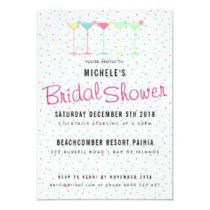 Cocktail Party Bridal Shower Invitation starting at 2.40