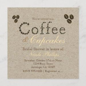 COFFEE Beans Natural Rustic ANY EVENT Invitations starting at 2.51
