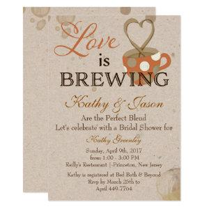 Coffee Bridal Shower Invitation starting at 2.77