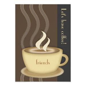 Coffee Cup Large Invitation starting at 2.55