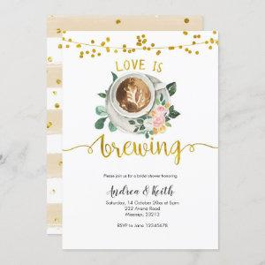 Coffee Love is Brewing Bridal Shower starting at 2.55