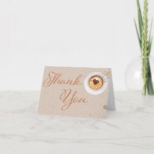 Coffee Love is Brewing Thank You Card starting at 3.00