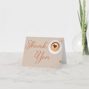 Coffee Love is Brewing Thank You Card starting at 3.10