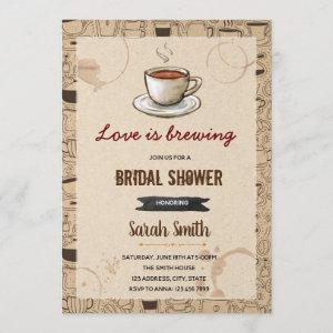 Coffee theme bridal shower starting at 2.50