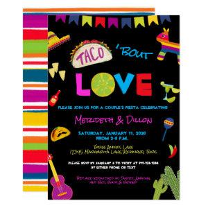 Coloful Taco Bout Love Fiesta Couples Shower Invitation starting at 2.51