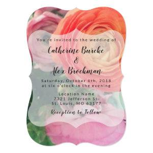 Colorful Floral Wedding Invitation starting at 2.81
