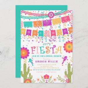 Colorful Let's Fiesta Bridal Shower Invitation starting at 2.51
