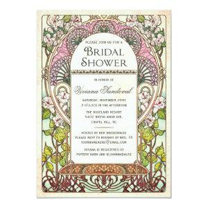 Colorful Vintage Bridal Shower Invitations starting at 2.50