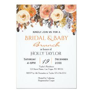 Combined Baby Shower and Bridal Shower Ideas Invitation starting at 2.66