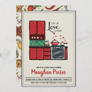 Cooking Themed Bridal Shower Invitation starting at 2.51