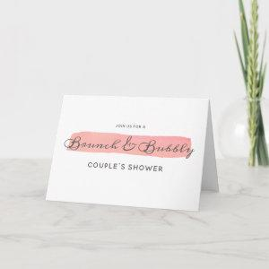 Coral Kiss Ombre Brunch & Bubbly Couple's Shower starting at 3.55