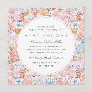 Coral Reef Baby Shower Invitation starting at 2.41