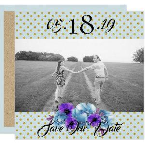 Cottage Roses Rustic Wedding Suite Save The Date Invitation starting at 2.40