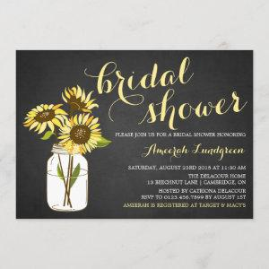 Country Chic Sunflowers Bridal Shower Invitation starting at 2.40