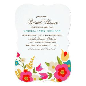 Country Flowers Bridal Shower Invitation starting at 2.76