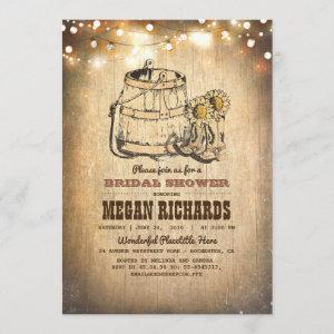 Country Rustic Cowboy Boots Bridal Shower Invitation starting at 2.40
