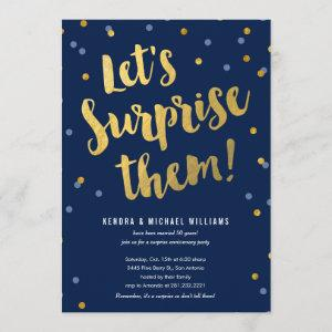 Couple's Surprise Party Invitations starting at 2.82