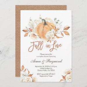 Couple Shower  Fall In Love Bridal Shower Invitation starting at 2.66
