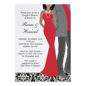 Couples Wedding Shower Invitation starting at 3.24