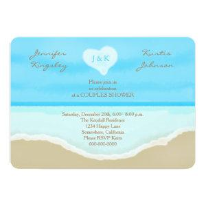 Couples Wedding Shower Invitations Beach starting at 2.76