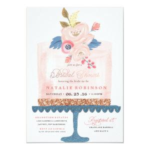 Couture Cake Bridal Shower Invitation - PINK starting at 2.51