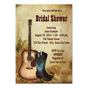 Cowgirl Bridal Shower Invitation starting at 2.66
