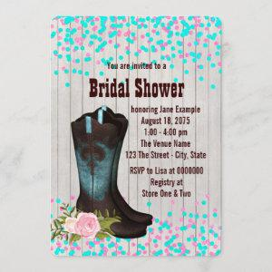 Cowgirl Bridal Shower Invitation starting at 2.75