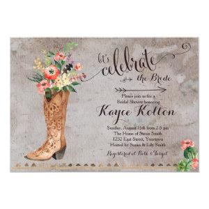 Cowgirl Rustic Bridal Shower Invitation starting at 2.31