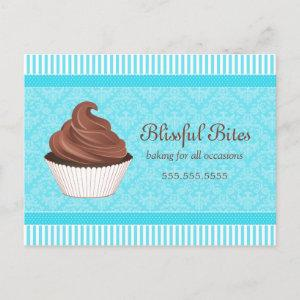 Cupcake Bakery Business Promotional Postcard starting at 2.25
