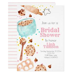Cute baking party bridal shower invitation starting at 2.45