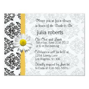 Daisy and Damask Bridal Shower Invitation starting at 2.21