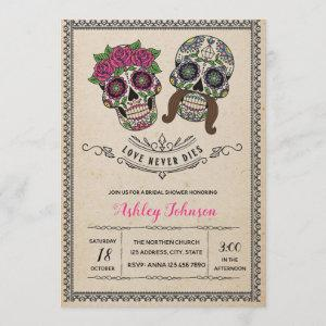 Day of the dead bridal shower starting at 2.50