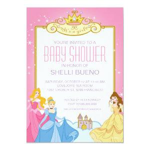 Disney Princess It's a Girl Baby Shower Invitation starting at 2.66