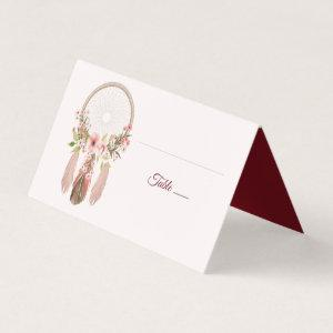 Dreamcatcher | Shabby Chic Reception Place Cards starting at 15.50