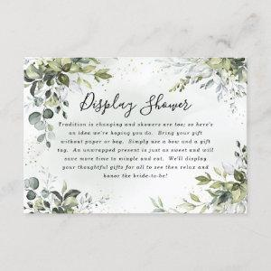 Dusty Blue Bridal Shower Boho Display Shower Cards starting at 2.05