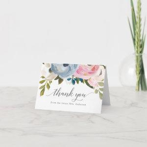 Dusty Floral Thank You Cards starting at 2.70