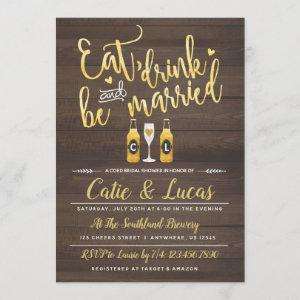 Eat Drink and Be Married Bridal Shower starting at 2.66
