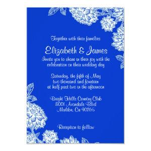 Elegant Blue Wedding Invitations starting at 2.66